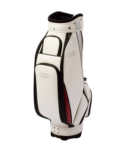 Golf caddie bag (white)