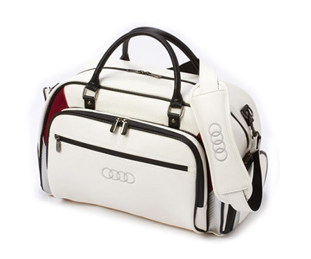 Golf overnight bag (white)