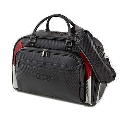 Golf overnight bag (black)