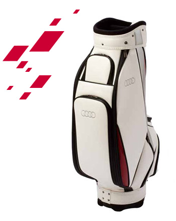 Audi golf cart bag (White)