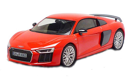 Audi R8 Coupé 1:43, Dynamite Red